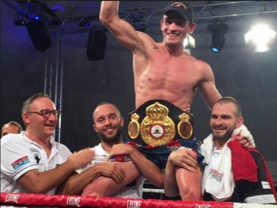 Boxe, Matteo Signani si conferma Campione d'Europa: Beaussire ko dopo 2 round