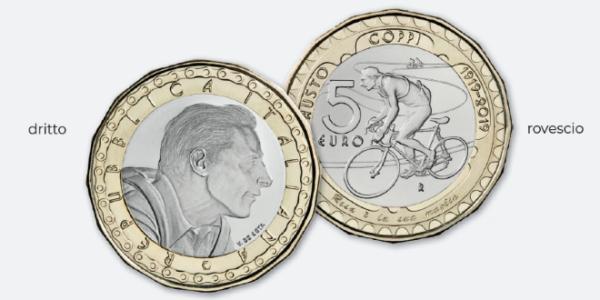 Ciclismo, coniata una moneta celebrativa per Fausto Coppi: la Zecca dello Stato presenta il pezzo da ...