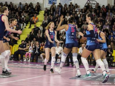 Volley femminile, Serie A1 2019: 17^ giornata, Scandicci è la nuova capolista! +2 su Novara e Conegliano