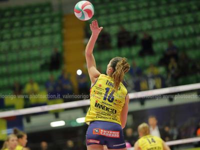 Volley femminile, le migliori italiane della 21^ giornata di Serie A1. Valentina Tirozzi e Laura Partenio determinanti