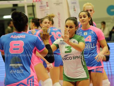 Volley femminile, Serie A1: 18^ giornata. Monza vince il posticipo, rimontata Firenze dallo 0-2