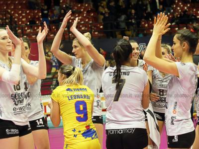 Volley femminile, Serie A1 2019: 15^ giornata, Busto Arsizio batte Monza al tie-break