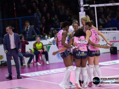 Volley femminile, Serie A1 2019: 19^ giornata, tutto facile per Novara e Conegliano. Casalmaggiore ferma Scandicci