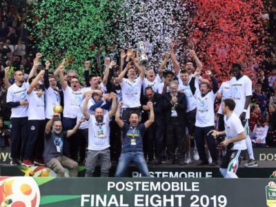 Basket, Final Eight Coppa Italia 2019: Cremona nella storia! Crawford e Saunders affondano Brindisi, Vanoli in trionfo!