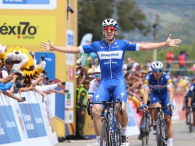 Tour Colombia 2019: Alvaro Hodeg vince la seconda tappa in volata e diventa leader