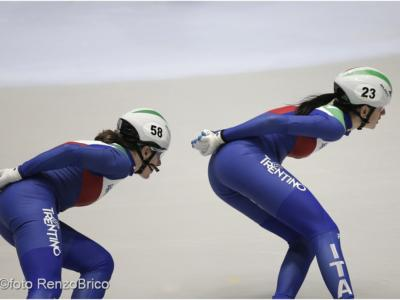 Speed skating, la Nazionale si raduna a Baselga in vista di Europei e Mondiali