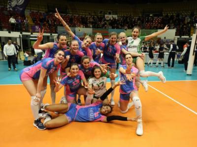 Volley femminile, Challenge Cup 2019: Monza gigantesca, battuto Le Cannet al golden set! Brianzole in finale