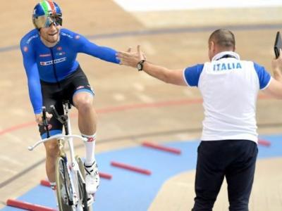 """Ciclismo su pista, Marco Villa: """"L'Italia c'è per Tokyo 2020: siamo vicini al record del mondo"""""""