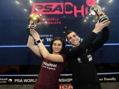 Squash, Mondiali 2019: Ali Farag e Nour El Sherbini nuovi campioni iridati! Sconfitti Tarek Momen e Nour El Tayeb
