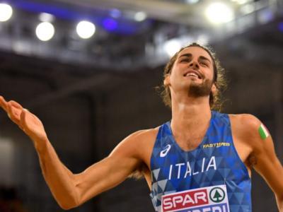 """Atletica, Gianmarco Tamberi: """"2.35 vale tanto, c'è la luce. Ho avuto gli incubi, mi viene da piangere"""""""