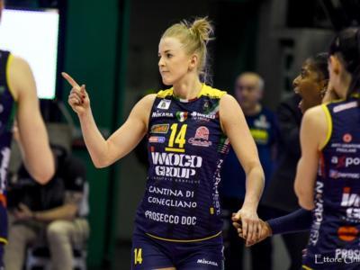 Volley femminile, Semifinali Scudetto 2019: Conegliano ad una vittoria dalla finale, Monza cerca l'impresa per riaprire la sfida