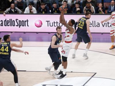 VIDEO Milano-Fenerbahce 90-104, Highlights e sintesi Eurolega 2019. L'Olimpia crolla al Forum