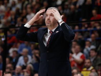 """Basket, Eurolega 2019: Simone Pianigiani """"Non avevamo la giusta carica, James è arrivato senza energie"""""""