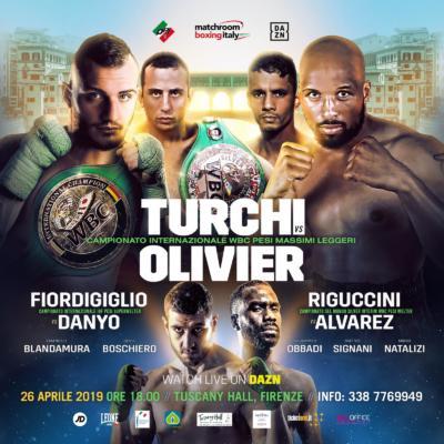 Boxe, serata da urlo a Firenze. Fabio Turchi, Orlando Fiordi