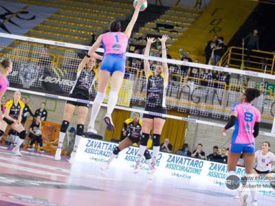Volley femminile, Serie A1: 23^ giornata, Monza e Busto Arsizio quarte a braccetto. Bergamo insegue i playoff