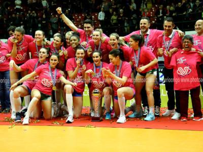 Volley femminile, MONZA IN PARADISO: vinta la Challenge Cup! Apoteosi europea per il Saugella