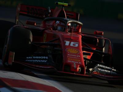 F1, GP Azerbaijan 2019: risultati FP3. Charles Leclerc fa il vuoto, 2° Vettel. Mercedes impressiona con le medie
