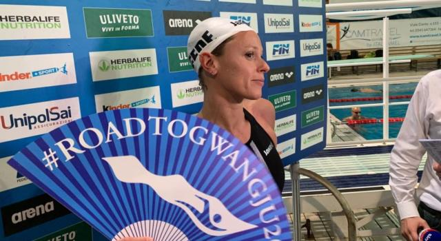 """Nuoto, Federica Pellegrini: """"Ho continuato a gareggiare per qualificarmi alla quinta Olimpiade. Nei 200 la mia erede non è ancora nata"""""""