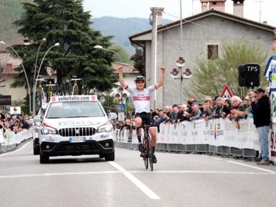 Ciclismo, il Trofeo Piva parla tedesco: Zimmermann conquista il San Vigilio, Italia sul podio con Rivi e Aleotti!