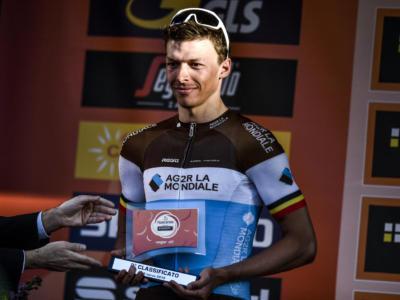 """Ciclismo, Oliver Naesen: """"L'arrivo di Van Avermaet in Ag2r mi costringe a uscire dalle mie zone di comfort"""""""