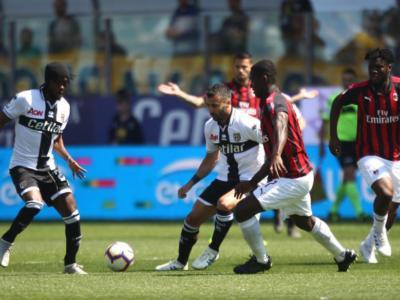 Parma-Milan 1-1, Serie A: passo falso dei rossoneri, non basta Castillejo. Bruno Alves pareggia allo scadere