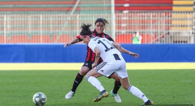 Calcio femminile, Coppa Italia 2019: Juventus-Milan 1-1, le bianconere volano in finale