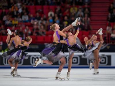 Pattinaggio sincronizzato, Mondiali 2019: il Team Paradise si impone dopo lo short. Ottimo nono posto per le Hot Shivers