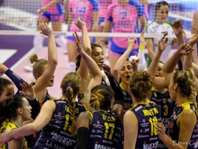 Conegliano-Monza volley femminile, orario gara-3 oggi: come vederla in tv e streaming. Il programma completo