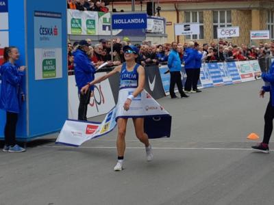 Atletica, Eleonora Giorgi vince la 20 km di marcia a Podebrady: scende sotto 1h28, non succedeva dal 2015