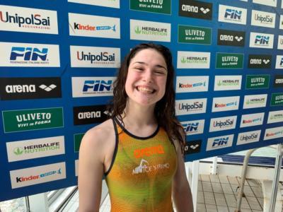 Nuoto: Benedetta Pilato colpisce ancora e migliora il suo primato nei 50 rana. L'azzurra è quarta al mondo nel 2019