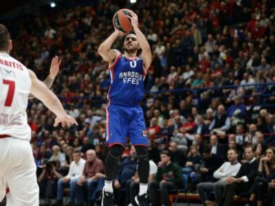 Basket, Final Four Eurolega 2019: Anadolu Efes in paradiso, è finale! Fenerbahce travolto con 30 punti di Shane Larkin