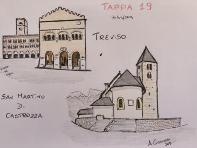 Giro d'Italia 2019, diciannovesima tappa Treviso-San Martino di Castrozza: orario di partenza e di arrivo. I Comuni e le Province che verranno attraversati