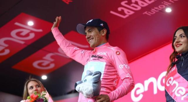Giro d'Italia 2019, risultato quattordicesima tappa: colpo doppio di Richard Carapaz, maglia rosa! Terzo Vincenzo Nibali