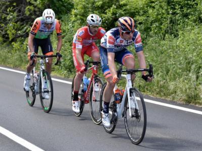 """Giro d'Italia 2019, l'accusa di Marco Frapporti sulla tappa di Frascati: """"Il gruppo ha ripreso la fuga perché è stato trainato da auto e moto"""""""