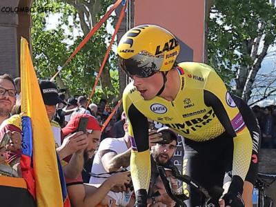 """Giro d'Italia 2019, Primoz Roglic: """"Ho dovuto cambiare passo in salita, la pioggia ha inciso nella prima parte"""""""