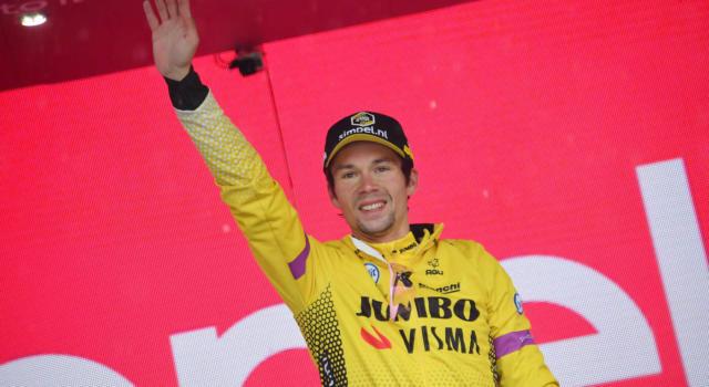"""Giro d'Italia 2019, Primoz Roglic: """"Domani potremmo lasciare la Maglia Rosa. Con l'assenza di Dumoulin non cambia nulla"""""""