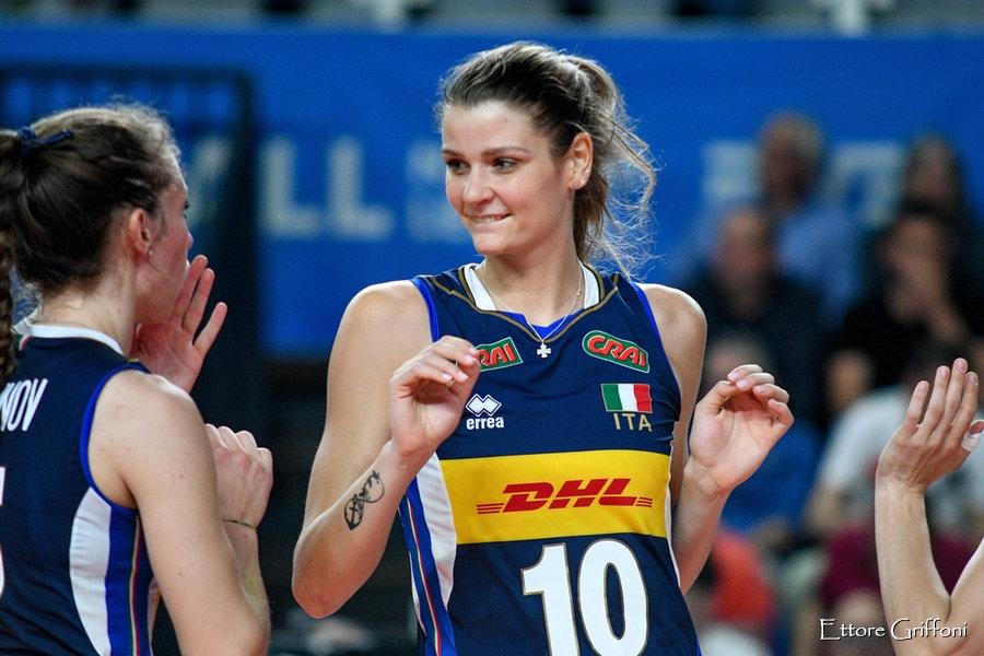 Italia-Serbia volley femminile: orario semifinale Europei, canali tv ...