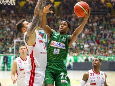 Basket, Playoff Serie A 2019: Avellino vuole chiudere la serie, Milano con le spalle al muro
