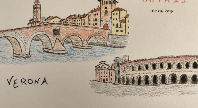 Giro d'Italia 2019, ventunesima tappa Verona-Verona: orario di partenza e di arrivo. I Comuni, le vie e le Province che verranno attraversati