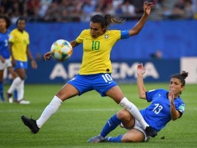 """Calcio femminile, Mondiali 2019: Italia-Brasile 0-1. Una sconfitta """"dolce"""", azzurre prime nel girone!"""