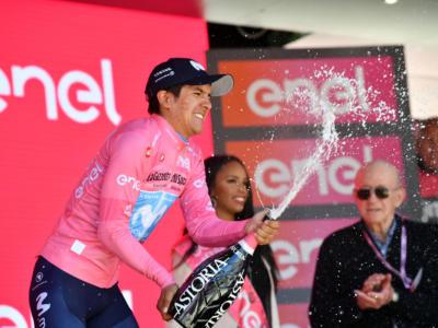 """Classifica finale Giro d'Italia 2019, 21^ tappa: Richard Carapaz in trionfo, Vincenzo Nibali secondo a 1'05"""""""