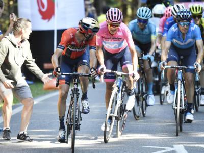 Vincenzo Nibali ha perso il Giro d'Italia a Courmayeur. Il tatticismo con Roglic ha spianato la strada a Carapaz