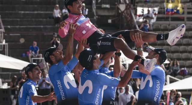 """Tour de France 2020, Richard Carapaz: """"Io avevo già preso la maglia, giusto che Kwiato si prendesse la tappa"""""""