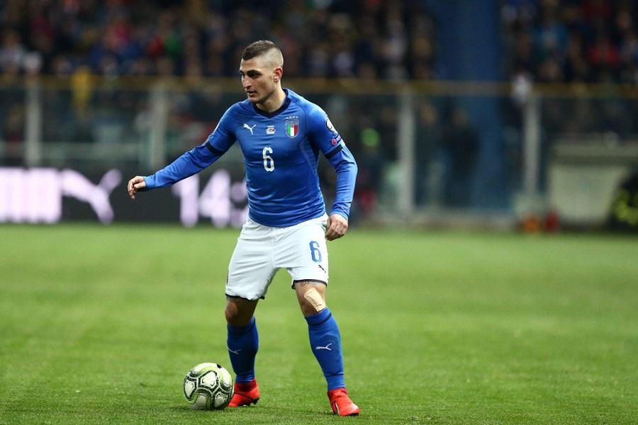 Calcio: Marco Verratti si fa male al ginocchio, a rischio gli Europei