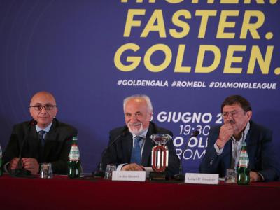 """Atletica, Alfio Giomi: """"Golden Gala in un momento straordinario per l'Italia"""""""