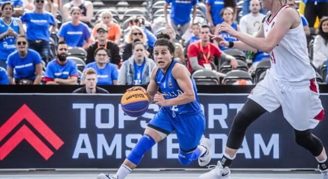 Basket 3×3: il torneo preolimpico si disputerà a Graz dal 26 al 30 maggio 2021, azzurre a caccia del pass