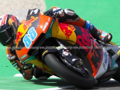 Moto2, risultati FP3 GP Andalucia 2020: Jorge Martin è il più rapido nel time-attack, Baldassarri ottimo 3°