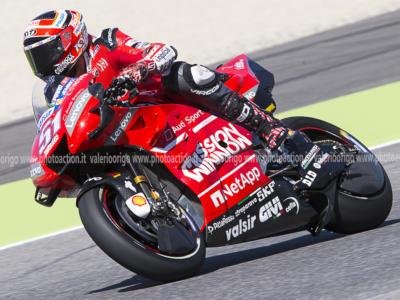 MotoGP: prima giornata di test sul KymiRing per i collaudatori dei team ufficiali
