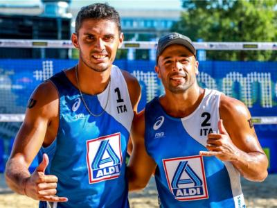 Beach volley, World Tour 2021. Cambio tecnico per Rossi/Carambula: via Solustri, arriva Raffaelli
