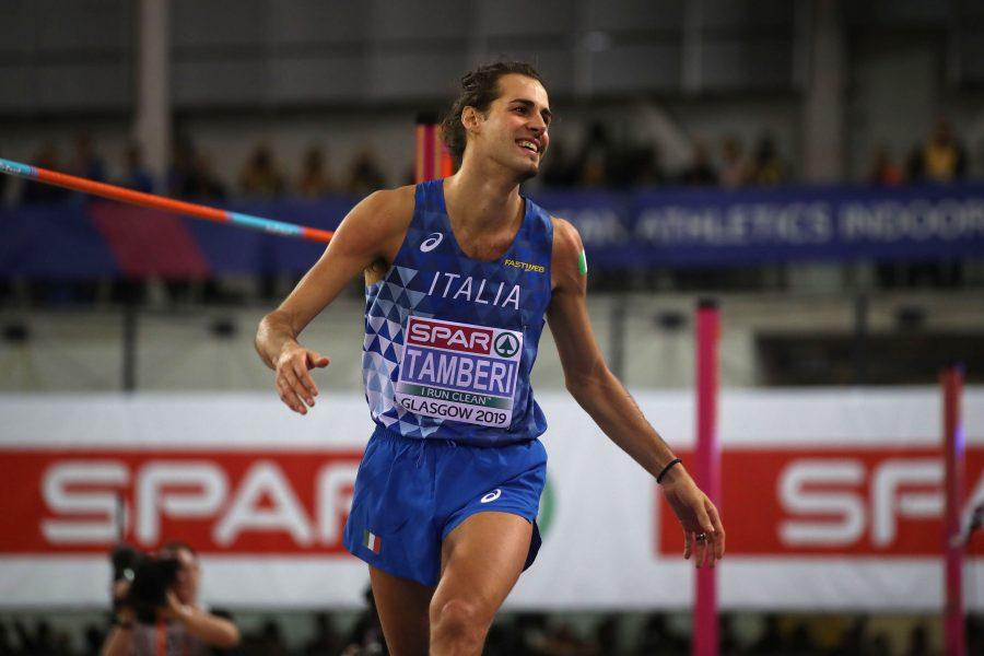 Gianmarco Tamberi medaglia d